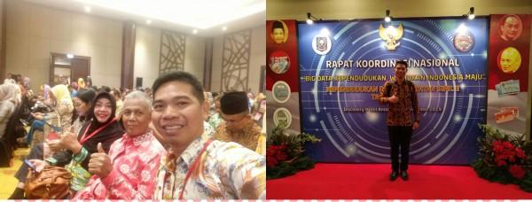 RAPAT KOORDINASI NASIONAL KEPENDUDUKAN DAN PENCATATAN SIPIL II TAHUN 2019 DI JAKARTA